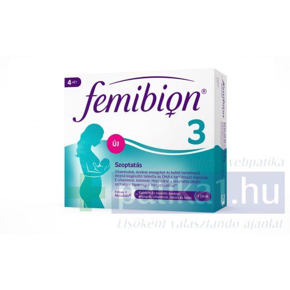 Femibion 3 Szoptatás tabletta + kapszula 28 adag