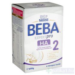 Beba Expertpro HA 2 tejalapú anyatej-kieg tápszer 600 g