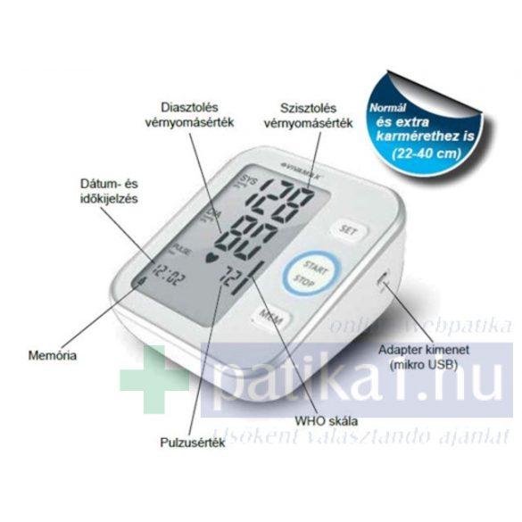 Vivamax Gyv14 felkaros automata vérnyomásmérő