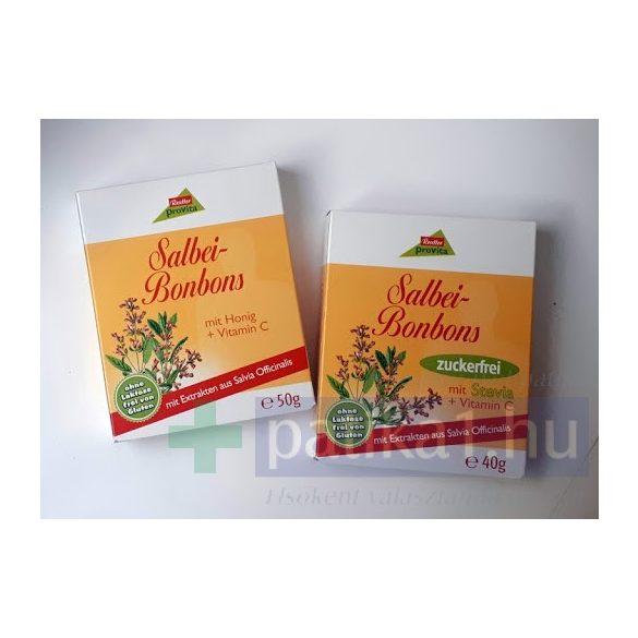 Reutter cukorka zsálya C-vitaminos 50 g