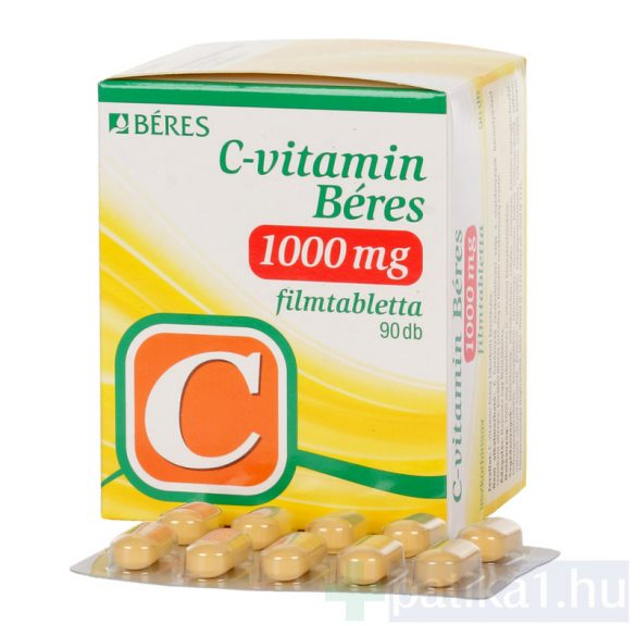 C-vitamin Béres 1000 mg filmtabletta 90 db
