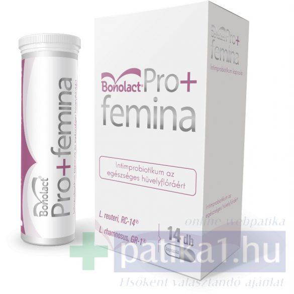 Bonolact Pro+Femina intim probiotikum kapszula 14 db