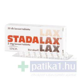 Stadalax 5 mg bevont tabletta 50 db
