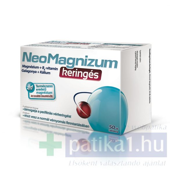NeoMagnizum keringés magnézium tabletta 50 db