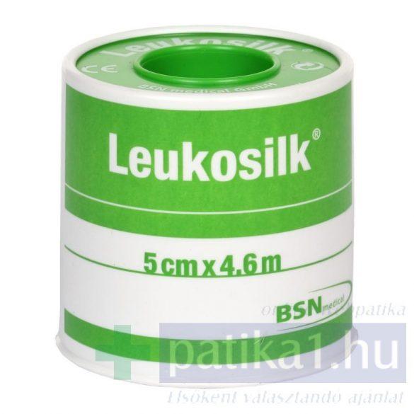 Leukosilk 4,6m x 5 cm