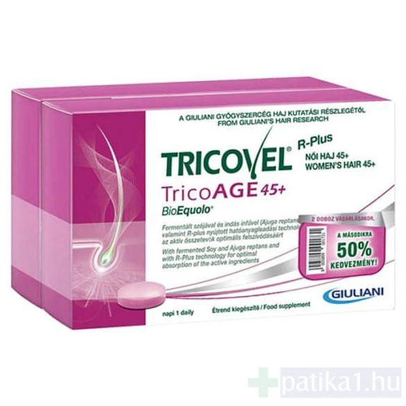 Tricovel TricoAGE 45+ BioEquolo tabletta 30 db