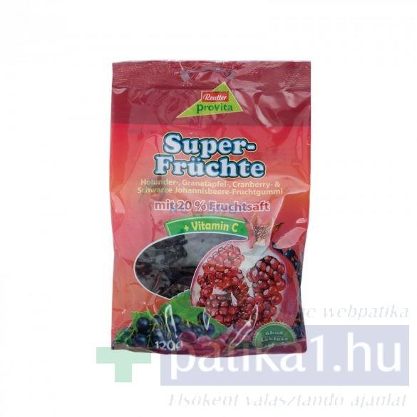 Reutter gumicukor szuper gyümölcsös 120 g