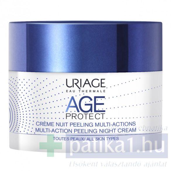 Uriage AGE PROTECT PEELING éjszakai ránctalanító krém50 ml