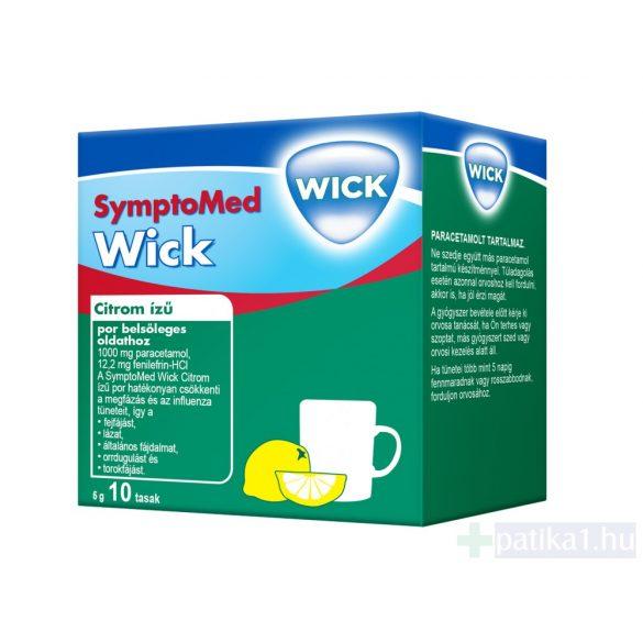 SymptoMed Wick Citromízű por belsőleges oldathoz 10 db
