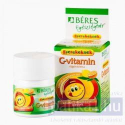 Béres Egészségtár C-vitamin rágótabletta gyerek 30 db