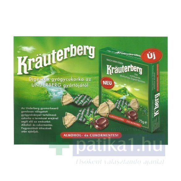 Krauterberg digesztív gyógycukorka 75 g