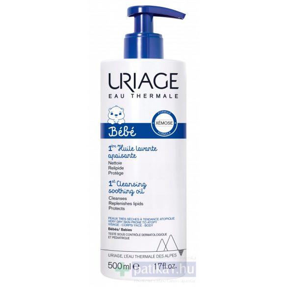 URIAGE Baba Bőrgyógyászati olajtusfürdő (ÚJ - Xémose formula)500 ml