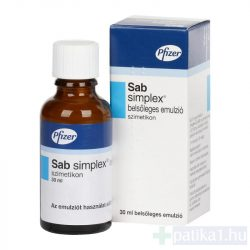 Sab Simplex belsőleges emulzió 30 ml