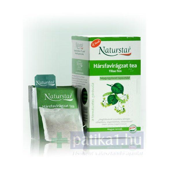 Naturstar Hársfavirágzat tea (Tiliae flos) filteres tea 25x 1g