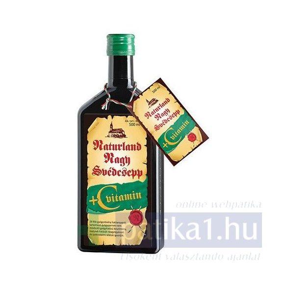 Naturland Nagy Svédcsepp + C-vitamin 500 ml