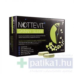 Nottevit Skinny Sleep 30 db kapszula