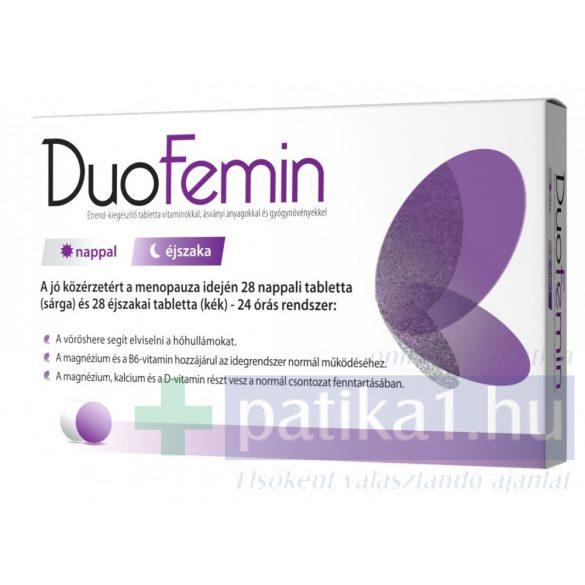 Duofemin étrendkiegészítő tabletta 28+28 db