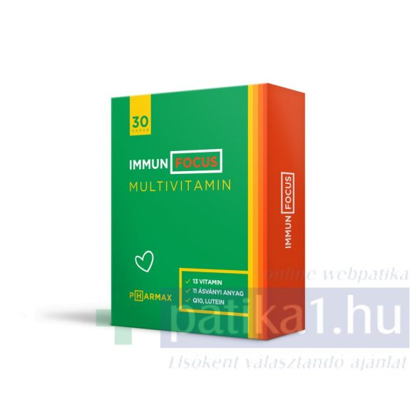 Immun Focus multivitamin tabletta 30 db