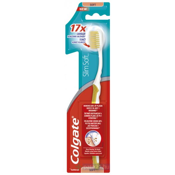 Colgate Slim Soft fogkefe ultra compact 1db