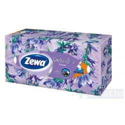 Zewa Deluxe Papírzsebkendő dobozos design 3 rétegű 90 db