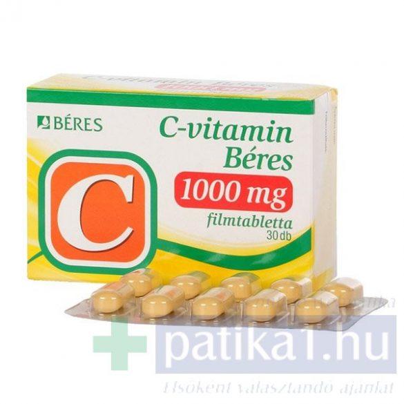 C-vitamin Béres 1000 mg filmtabletta 30 db