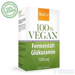 BioCo Vegan fermentalt Glükozamin 1500 mg tabletta 60 db 100% vegán