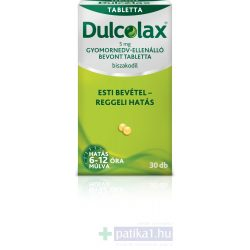 Dulcolax 5 mg gyomornedv-ellenálló bevont tabletta 30 db