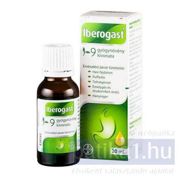 Iberogast  belsőleges oldatos cseppek 20 ml
