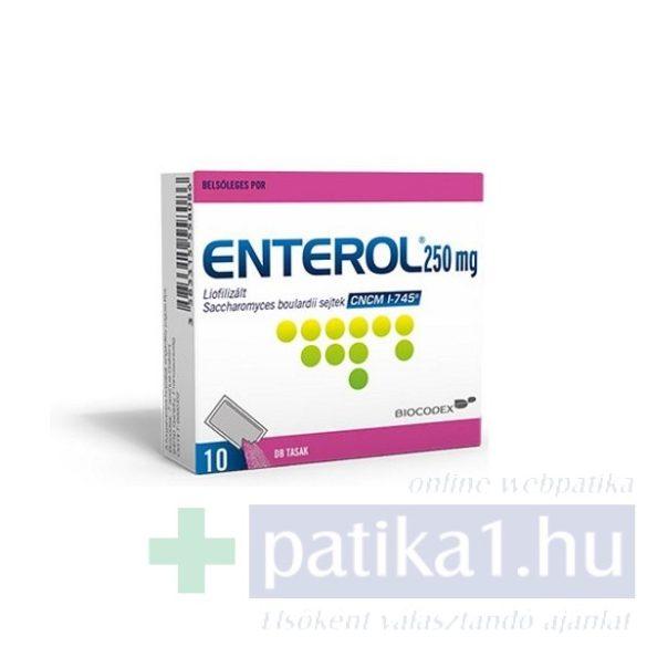 Enterol 250 mg belsőleges por 10 db