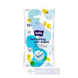 Bella törlőkendő frissítő antibakteriális 10 db