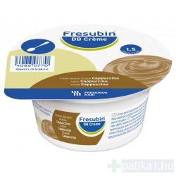 Fresubin DB créme - cappuccino ízű krémdesszert 4x 125 g