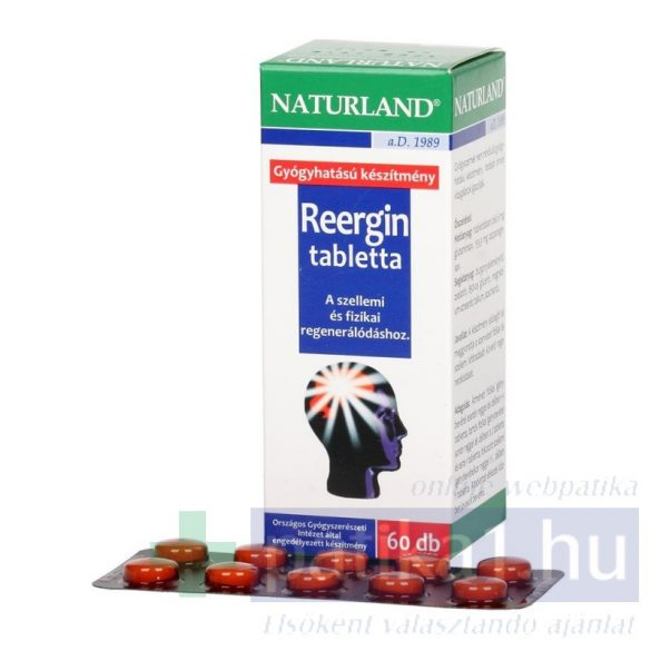 Reergin tabletta 60 db