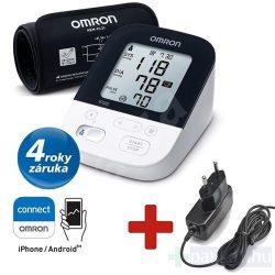 OMRON M4 Intelli IT Intellisense felkaros okos-vérnyomásmérő Bluetooth adatátvitellel – 2020-as modell + adapter