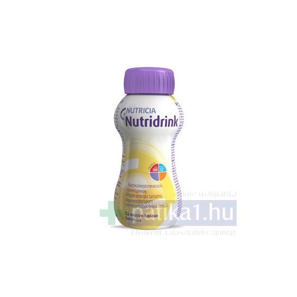 Nutricia Nutridrink banán ízű 24x200ml