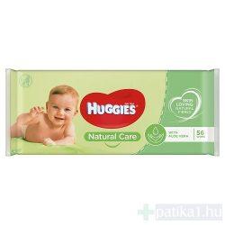 Huggies baba törlőkendő Aloe nature care 56x