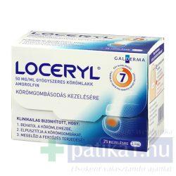 Loceryl 50 mg/ml gyógyszeres körömlakk 2,5 ml
