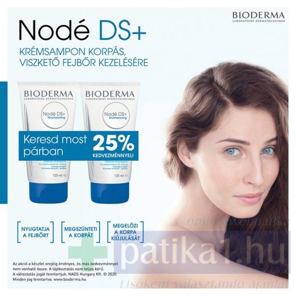 Nodé DS+ krémsampon 2x125 ml DUPLACSOMAG