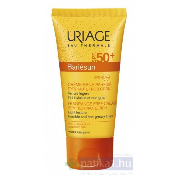 Uriage BARIÉSUN Illatmentes arckrém SPF50+ 50 ml