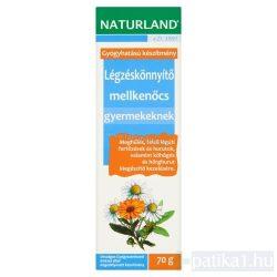 Naturland Légzéskönnyítő mellkenőcs gyerek 70 g