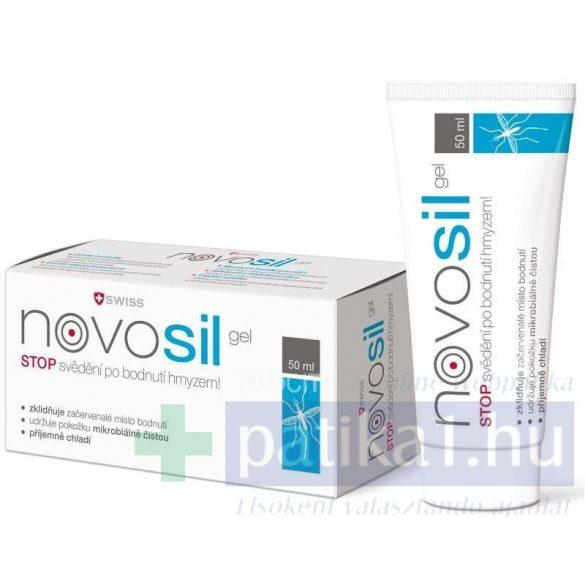 Novosil bőrnyugtató gél rovarcsípésre 50 ml swiss