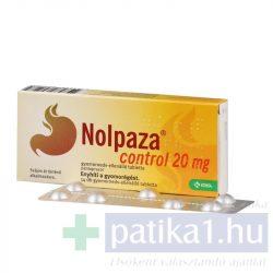Nolpaza Control 20 mg gyomornedv-ellanálló tabletta 14 db