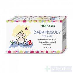 Herbária Babamosoly baba tea filteres 20x1,5g