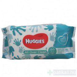 Huggies baba törlőkendő All Over Clean 56x