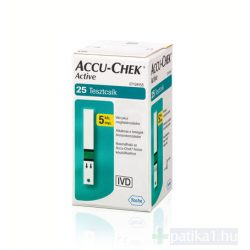 AccuCheck Active Glucose vércukormérő tesztcsík 25x