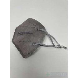 FFP2 SZÜRKE szájmaszk 1 db CE 2163 egyenként csomagolt Yunyifu