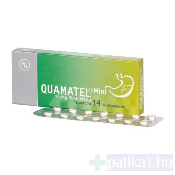 Quamatel mini 10 mg filmtabletta 14 db
