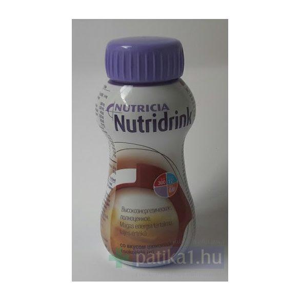 Nutricia Nutridrink csokoládé ízű 24x200ml