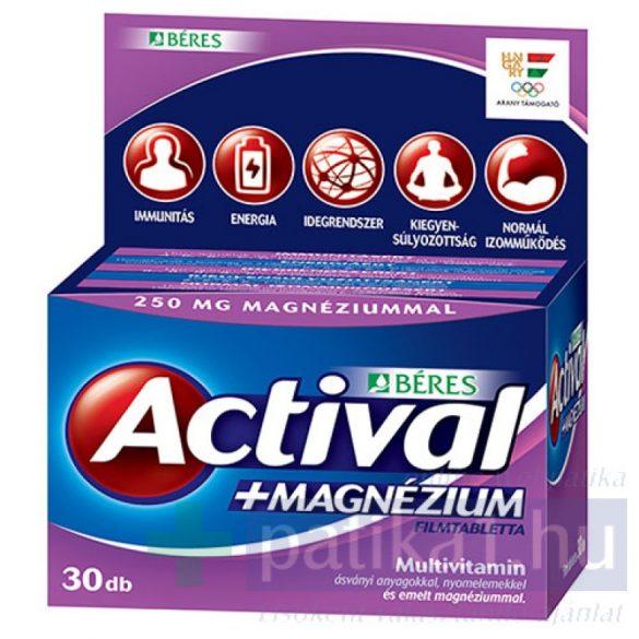 Actival Plus Magnézium 30x flimtabletta