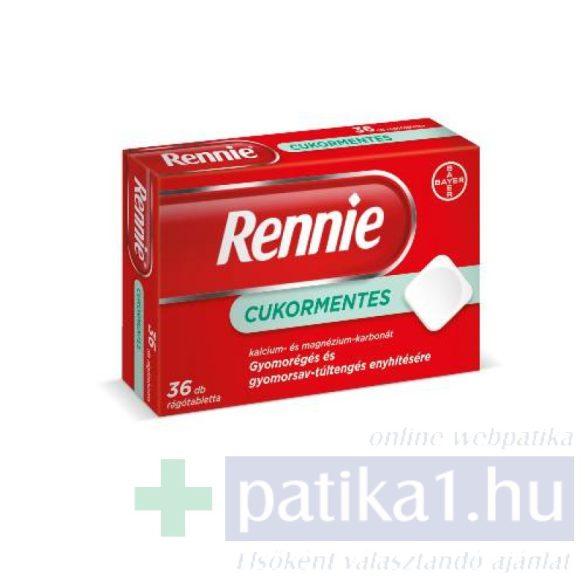 Rennie cukormentes rágótabletta 36 db