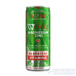 Swiss Laboratory Fizzy Magnézium+Cink tartalmú vitaminital 250 ml